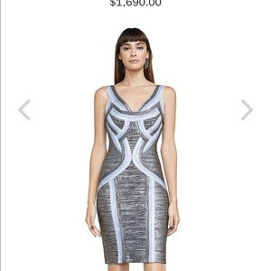 """Just IN Brand New/tags S HERVE LEGER """"Emily""""dress"""